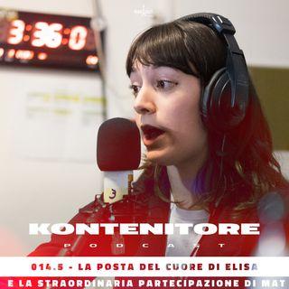 Kontenitore 014.5 - posta del cuore w/ Elisa Salvini e Mattia