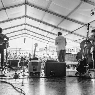 Bermuda Triangle Live In Concert: Newport Folk 2018 on NPR's All Songs Considered Live