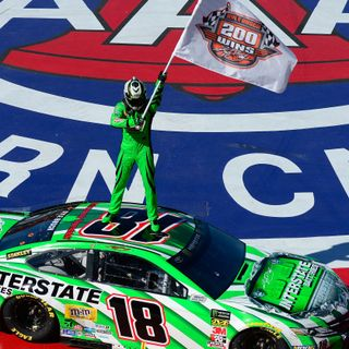 Around the Curb NASCAR: Results from Auto Club Speedway and also discuss Kyle Busch's legacy.