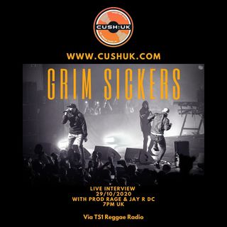 The Cush:Uk Takeover Show - EP.76 - Prod Rage & Jay R - Live with Grim Sickers