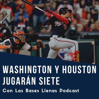 Nacionales fuerzan a los Astros a un juego 7 en la Serie Mundial 2019