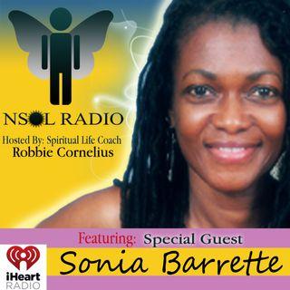 Robbie Cornelius with Sonia Barrett