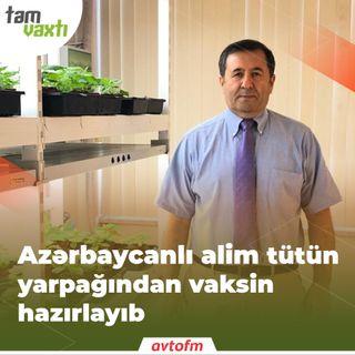 Azərbaycanlı alim tütün yarpağından vaksin hazırlayıb | Tam vaxtı #75