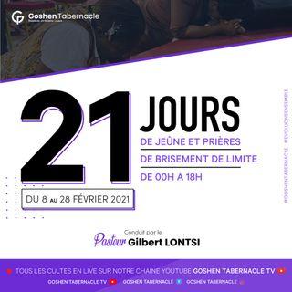 Prière et exhortation de 3h du 12 Février 2021