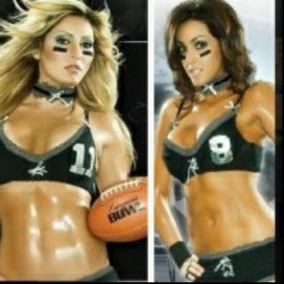 Lingerie Football Girls Interview