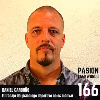 """Daniel Garduño """"El trabajo del psicólogo deportivo no es motivar"""""""