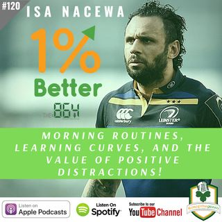 Isa Nacewa – Morning Routines, Learning Curves, and the Value of Positive Distractions - 1% Better in 864 - EP120