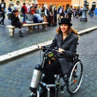 [OUTTAKES] Il viaggio lento su una sedia a rotelle. Con Simona.