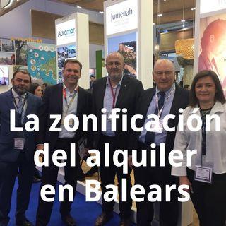 Zonificación en alquiler vacacional en Baleares. Qué es y en qué afecta.