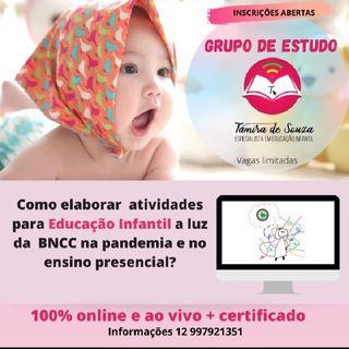 Convite -Grupo de Estudo BNCC e Atividades para ED. INFANTIL