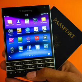 "#117 BlackBerry Passport ""The Revenant"""