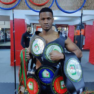 Interview d'Ézéckiel Eyele Ondo, athlète international gabonais de sports de combat