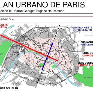 10. El plan de París del Baron Haussmann