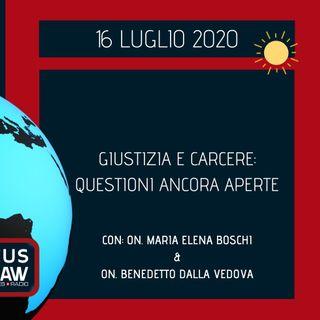 BREAKING NEWS – GIUSTIZIA E CARCERE: QUESTIONI ANCORA APERTE