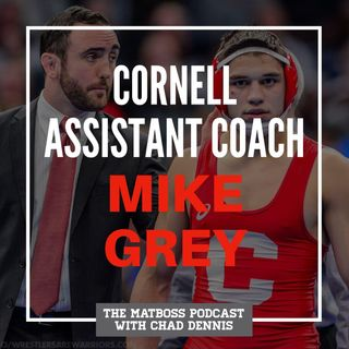 Cornell assistant coach Mike Grey