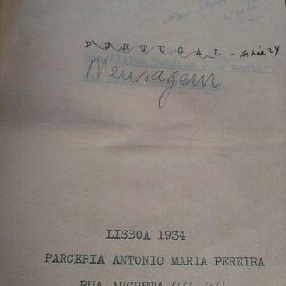 """""""I. O Infante"""" em """"Mensagem"""" - Fernando Pessoa"""
