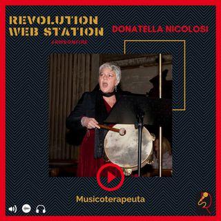INTERVISTA DONATELLA NICOLOSI - MUSICOTERAPEUTA