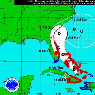 National Hurricane Center Warns Southeast U.S.