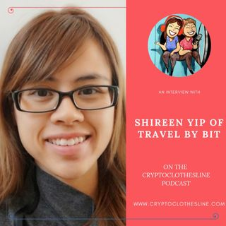 Shireen Yip from Travel By Bit on Crypto Clothesline