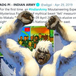 The Indian Army Claims To Have Found Evidence Of The Yeti