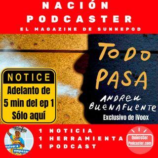 Estreno en @ivoox el podcast de @Buenafuente @ElTerrat , Nuevo podcast de @eACNUR @molo_cebrian y el Club QuieroSerPodcaster