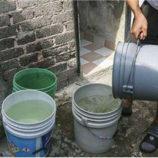 Suspenderán GAM y Azcapotzalco suministro de agua