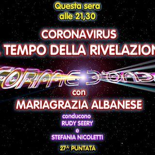 Forme d'Onda - Maria Grazia Albanese - Coronavirus: il Tempo della Rivelazione - 27^ puntata (07/05/2020)