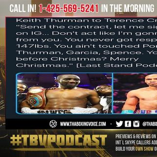 ☎️Terence Crawford's BLUFF CALLED😱Thurman Ok'd By Haymon😎Willing to Sign Contract On IG LIVE🤫