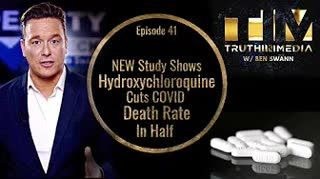 NEW Study Shows HYDR0XYCHL0R0QUlNE Cuts COVID Death Rate In Half