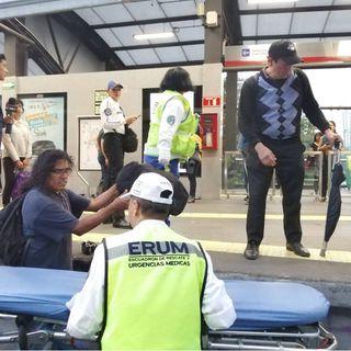 Durante la marcha de ayer se atendió a 16 heridos