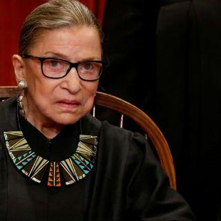 Despiden estadounidenses a jueza Suprema Ruth Bader Ginsburg