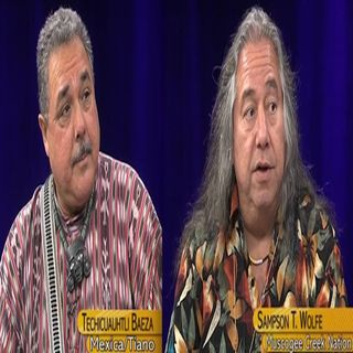 NVTV - Baeza (Mexica/Tiano) &  Wolfe (Muscogee Creek Nation)