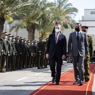 """Draghi riparte dalla Libia """"Ma sui migranti è male informato"""""""