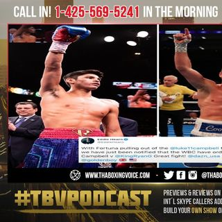 ☎️WBC Order Ryan Garcia vs Luke Campbell🔥ESPN Says Garcia Wanted💰$2 Million For Linares😱