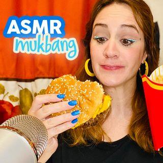 ASMR Mukbang McDonald's