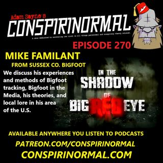 Conspirinormal Episode 270- Mike Familant (In the Shadow of Big Red Eye)