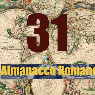 Almanacco romano - 31 ottobre