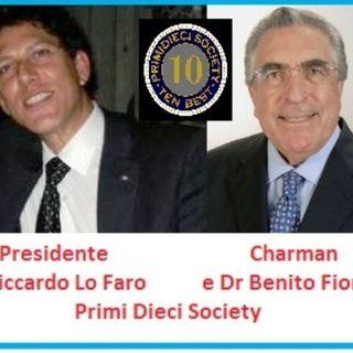 10 italiani di eccelenza premiati  a Londra - Ne parliamo con il Presidente di PrimiDieci Society Riccardo Lo Faro e con il Dr Benito Fiore