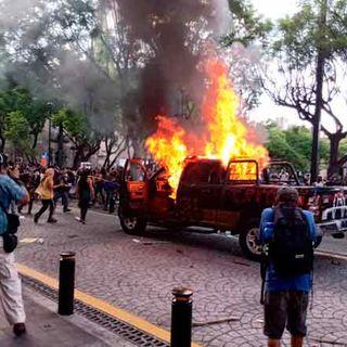En cuarentena: Especial contacto con Guadalajara (México), manifestaciones en rechazo de asesinato policial