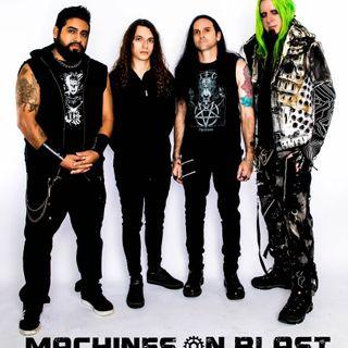 MACHINES ON BLAST Interview