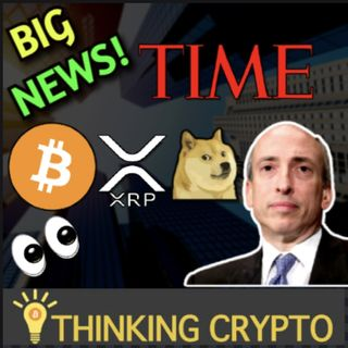 Time Magazine Accepts Bitcoin, XRP & Other Crypto Payments & SEC Ripple Lawsuit WSJ Media Pressure