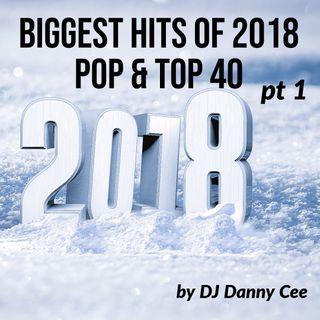 Biggest Hits of 2018 Pop & Top 40 Pt 1 DJ Danny Cee (v)