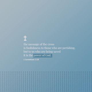 Episode 306 - 1 Corinthians 1:18 (April 1, 2019)