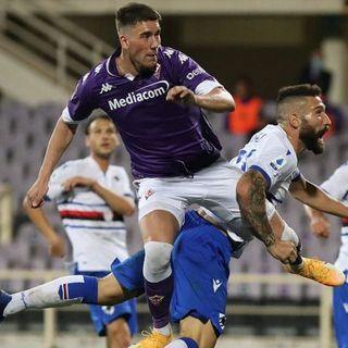 Serie A: colpo a Firenze per la Samp. Covid: due positivi al Napoli e altri due al Genoa