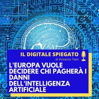 13. L'Europa vuole decidere chi pagherà i danni dell'Intelligenza Artificiale