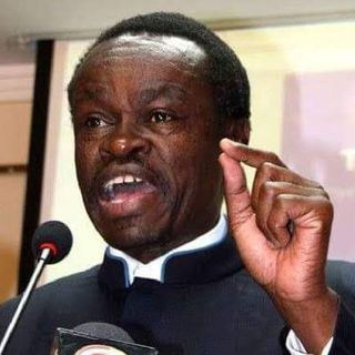 PROF. DR. PLO LUMUMBA GIVING A VIEW ON AFRICAN MINISTERS