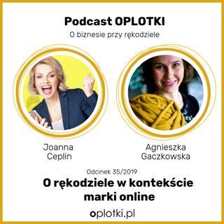 35/2019 Joanna Ceplin - o rękodziele w kontekście marki online