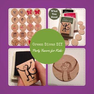 Green Divas DIY: Wood Memory Game 4 Kids
