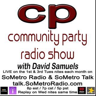 Community Party Radio Show with David Samuels Show 63 December 19 2017 Interview with Prof Johnny Eric Williams