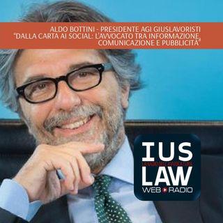 Aldo Bottini - Dalla carta ai social: l'avvocato tra informazione, comunicazione e pubblicità
